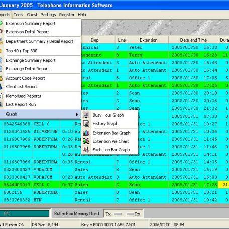 MAN3000 telephone management system