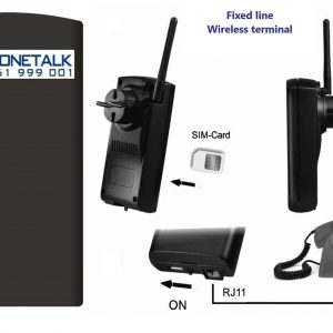 Phonetalk GSM wireless telephone line