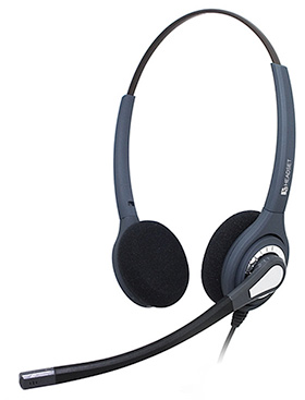 binaural headset