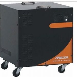 Mecer 2.4KVA 1440Watt Inverter including cabinet and batteries